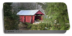 Campbell's Covered Bridge-1 Portable Battery Charger by Charles Hite