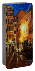 Campo Di Fiori- Italy Portable Battery Charger