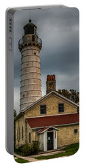Cana Island Lighthouse By Paul Freidlund Portable Battery Charger