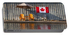 Canada Day In Muskoka Portable Battery Charger