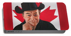 Canadian Icon Stompin' Tom Conners  Portable Battery Charger