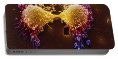 Cancer Cell Division Portable Battery Charger by SPL and Photo Researchers