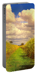 Portable Battery Charger featuring the photograph Cane Fields by Wallaroo Images