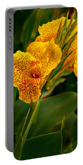Canna Blossom Portable Battery Charger