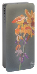 Canna Portable Battery Charger by Pamela  Meredith