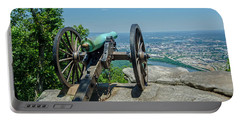 Portable Battery Charger featuring the photograph Cannon At Point Park by Susan  McMenamin