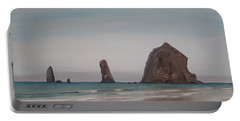 Cannon Beach Haystack Rock Portable Battery Charger