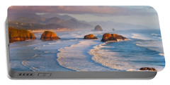 Cannon Beach Sunset Portable Battery Charger