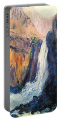 Canyon Blues Portable Battery Charger by Gail Kirtz
