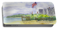 Massachusetts -cape Cod Cottages Portable Battery Charger