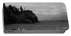 Cape Disappointment Light - Bw Portable Battery Charger