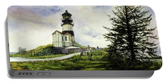 Cape Disappointment Lighthouse On The Washington Coast Portable Battery Charger