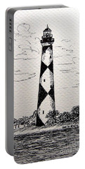 Cape Lookout Lighthouse Nc Portable Battery Charger