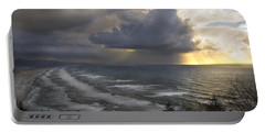 Sunset At Cape Lookout Oregon Coast Portable Battery Charger by Yulia Kazansky