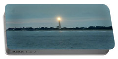 Cape May Beacon Portable Battery Charger by Ed Sweeney