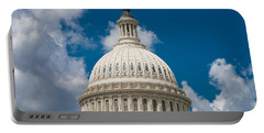 Capital Dome Washington D C Portable Battery Charger by Steve Gadomski