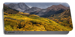 Capitol Peak In Snowmass Colorado Portable Battery Charger