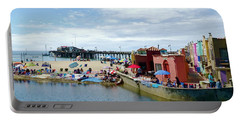 Capitola Begonia Festival Weekend Portable Battery Charger by Amelia Racca