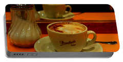 Portable Battery Charger featuring the photograph Cappuccino by Caroline Stella