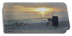 Portable Battery Charger featuring the photograph Captiva Sunset by Carol  Bradley