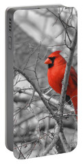Cardinal Of Hope 002sc Portable Battery Charger