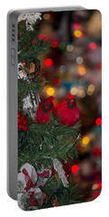 Cardinals Portable Battery Charger by Patricia Babbitt