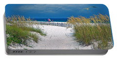 Carefree Days By The Sea Portable Battery Charger