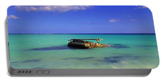 Portable Battery Charger featuring the photograph Caribbean Colors  by Eti Reid