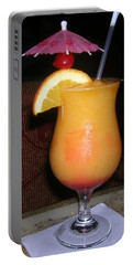 Caribbean Fuzzy Peach Naval Portable Battery Charger