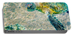 Beautiful Sea Turtle Portable Battery Charger