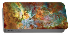 Carina Nebula - Interpretation 1 Portable Battery Charger
