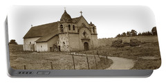 Carmel Mission Monterey Co. California Circa 1890 Portable Battery Charger