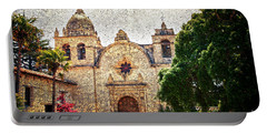 Carmel Mission Portable Battery Charger by RicardMN Photography