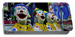 Carnival Clowns Portable Battery Charger