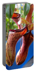 Carnivorous Pitcher Plants Portable Battery Charger by Venetia Featherstone-Witty