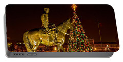 Portable Battery Charger featuring the photograph Carol Of Lights by Mae Wertz
