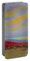 Carolina Autumn Sunset Portable Battery Charger