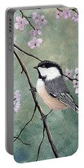 Carolina Chickadee Portable Battery Charger