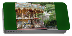 Carousel In Paris Portable Battery Charger