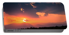 Portable Battery Charger featuring the photograph Carpathian Sunset by Mihai Andritoiu