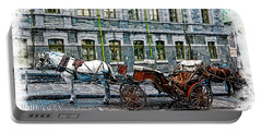 Carriage Rides Series 06 Portable Battery Charger