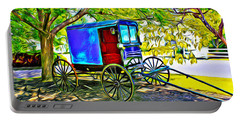 Amish Carriage Portable Battery Charger