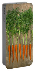 Carrots Portable Battery Charger by Svetlana Sewell