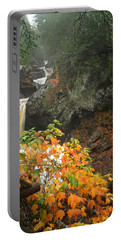 Portable Battery Charger featuring the photograph Cascading Steps by James Peterson