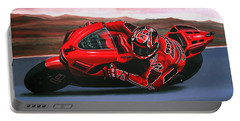 Casey Stoner On Ducati Portable Battery Charger