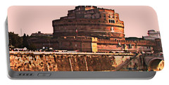 Portable Battery Charger featuring the photograph Castel Sant 'angelo by Brian Reaves