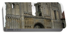 Portable Battery Charger featuring the photograph Castle Acre Abbey by Stephanie Grant