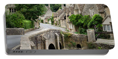 Castle Combe Cotswolds Village Portable Battery Charger