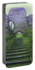 Portable Battery Charger featuring the photograph Castle Gate by John Williams