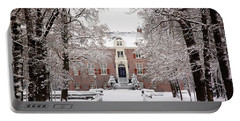 Castle In Winter Dress  Portable Battery Charger